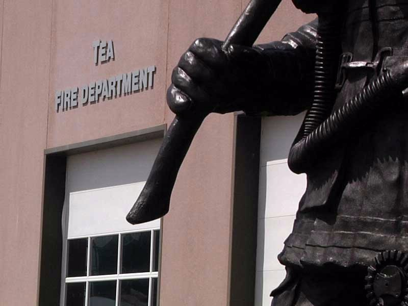 tea fire department emergency responders building embezzlement