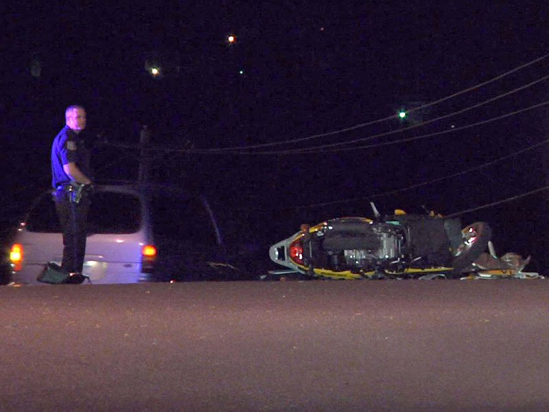 woman hospitalized following moped crash on 26th street & Yeager road near i-229