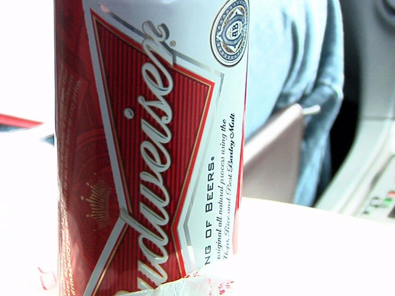 sioux falls police liquor sting ride-along underage alcohol beer can budweiser