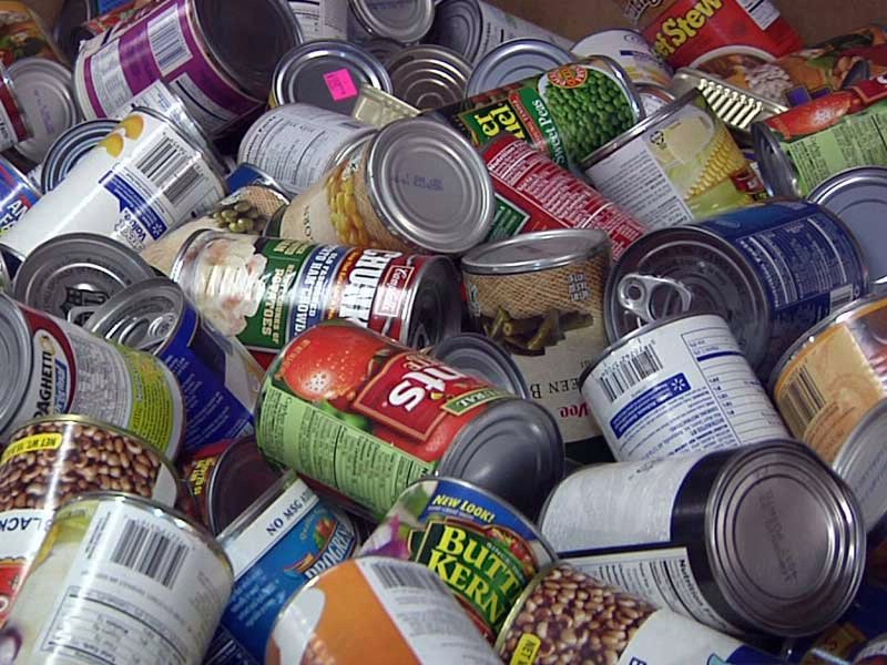 feeding south dakota canned food