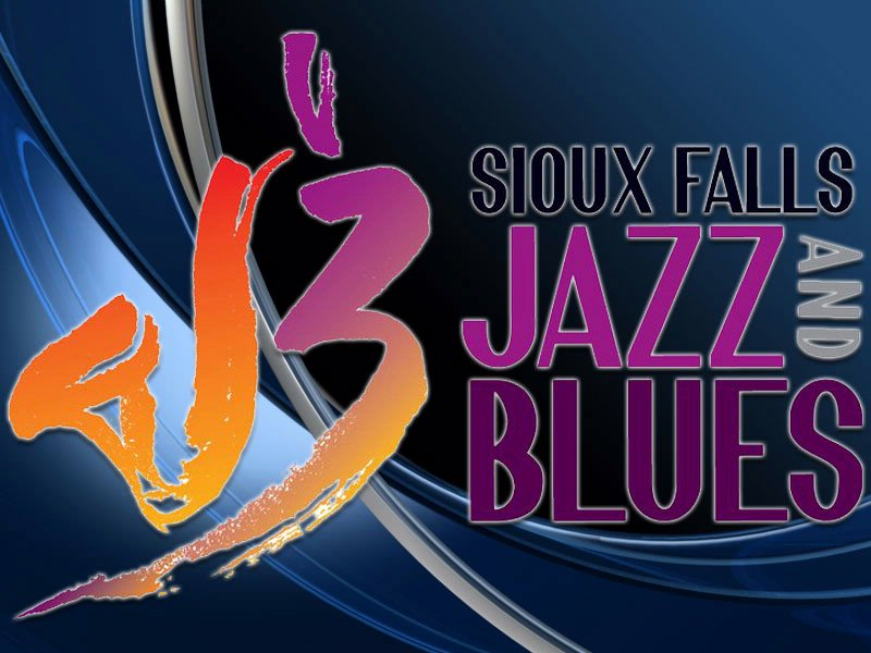 JazzFest logo jazz and blues society