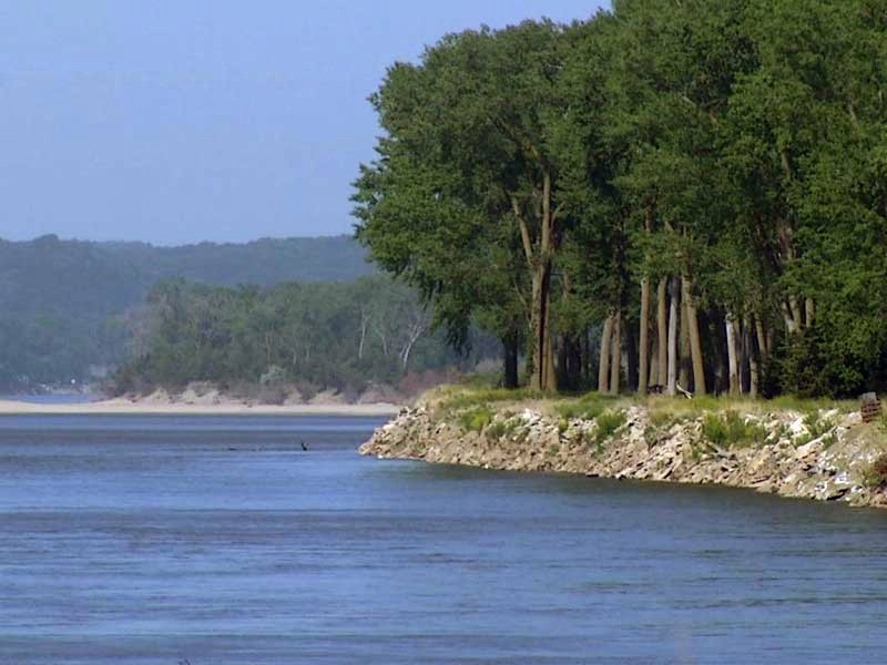 missouri river vermillion area endangered waterway