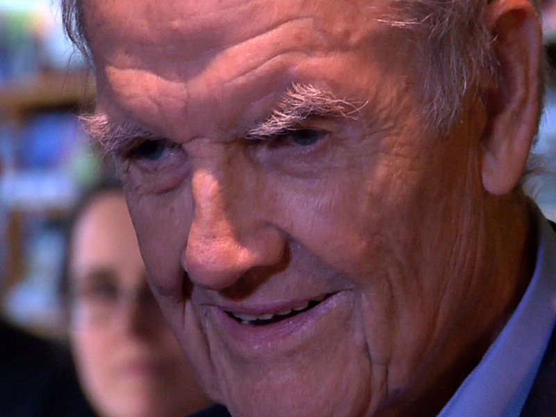 george mcgovern former senator book signing politician democrat