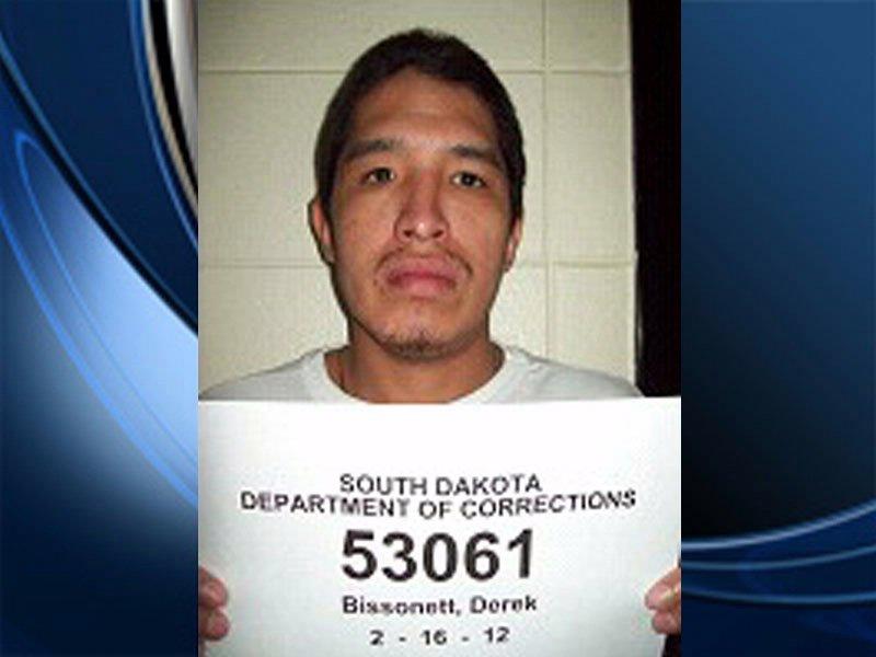 Derek Bissonette missing inmate out of Rapid City