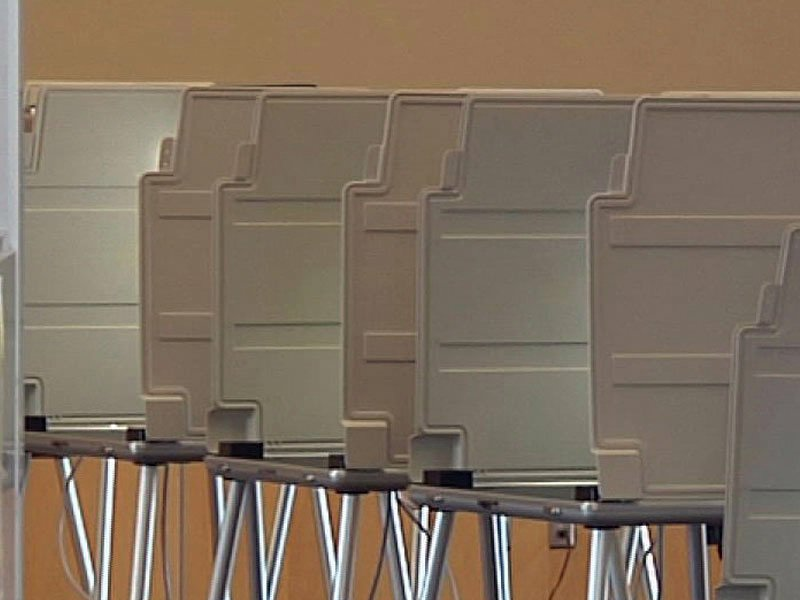 empty voting booths elections generic