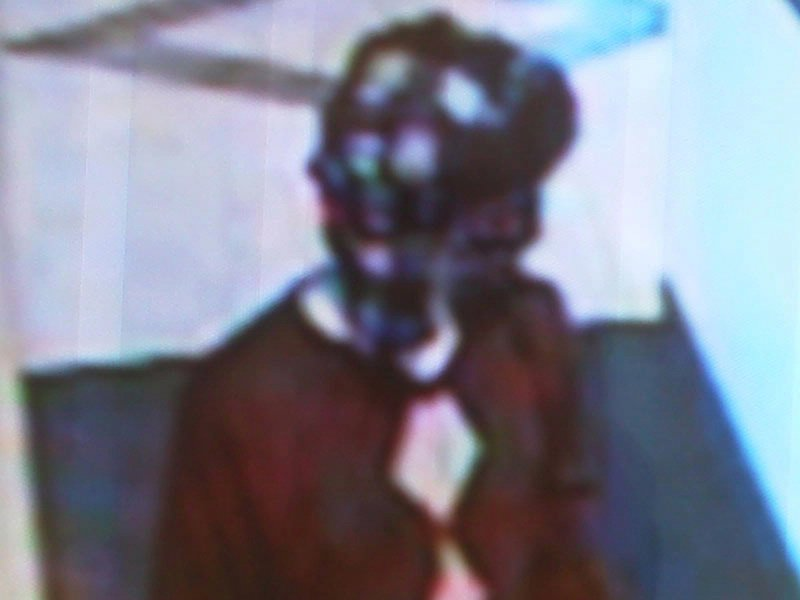 great western bank armed robbery suspect