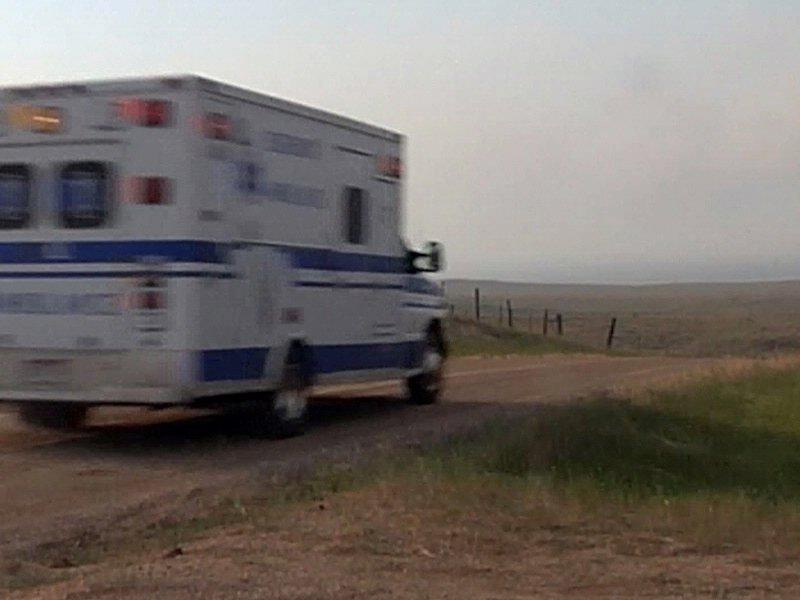 wildfire tanker crash ambulance white draw fire