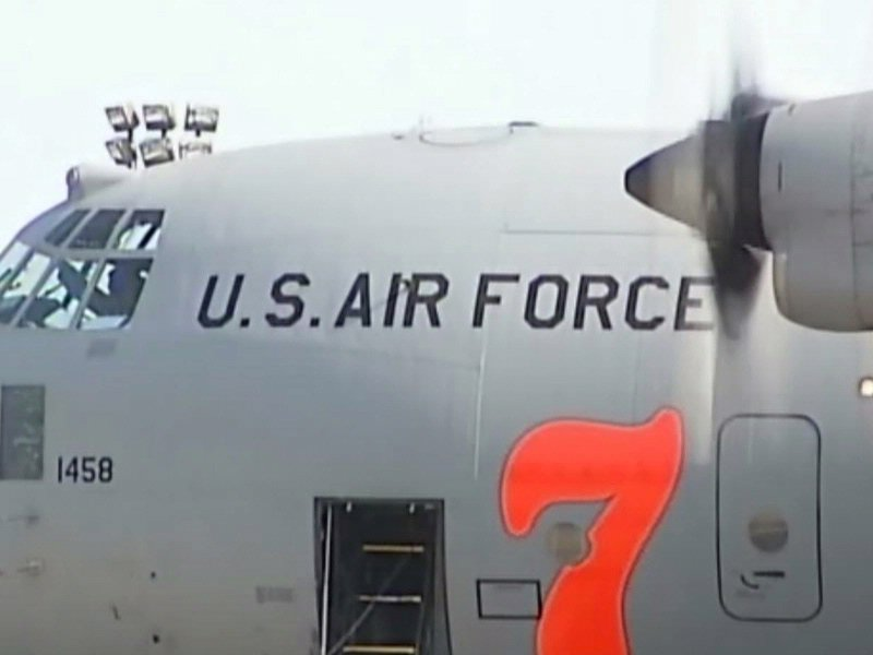 charlotte north carolina c-130 crashed in black hills near edgemont