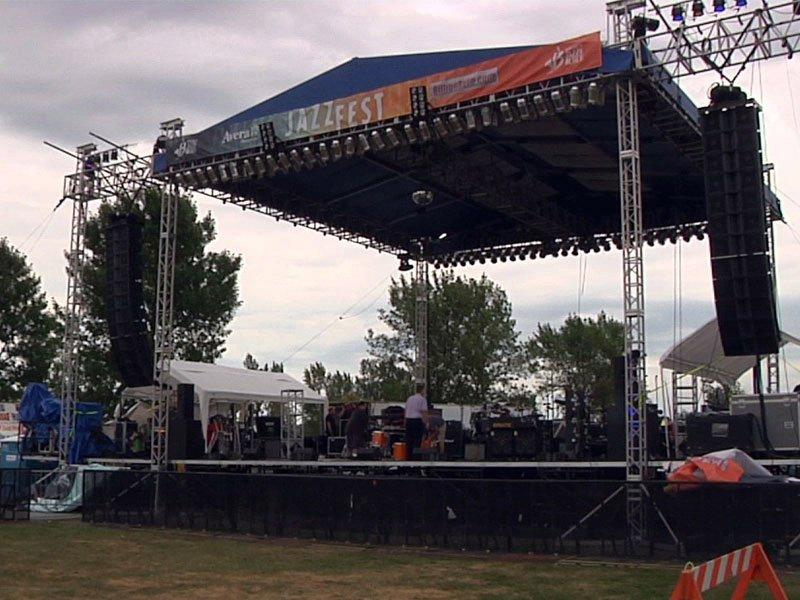 jazzfest stage