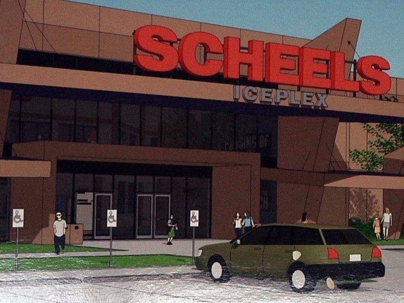 scheels iceplex ice arena