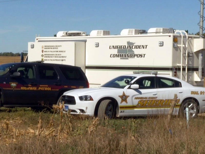 armed burglary suspect search near mccrossan boys ranch minnehaha county