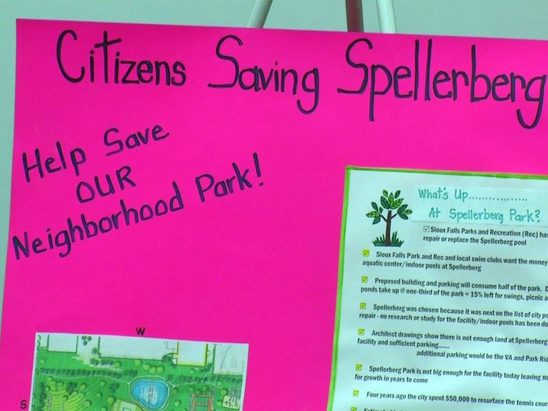 citizens saving spellerberg petition drive campaign sign