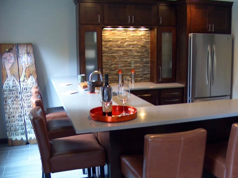 remodeled home tour this weekend bar area interior design remodels