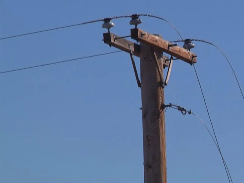 power lines down due to wind in rapid city