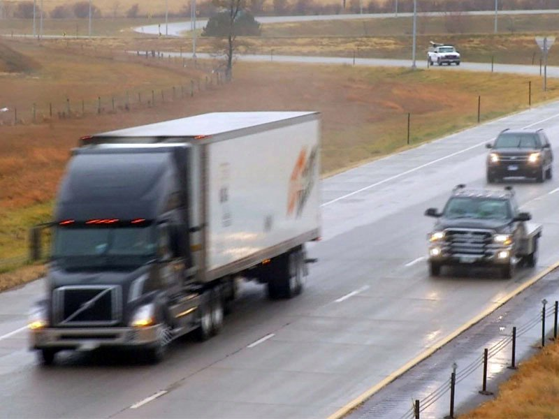 windy for truck drivers