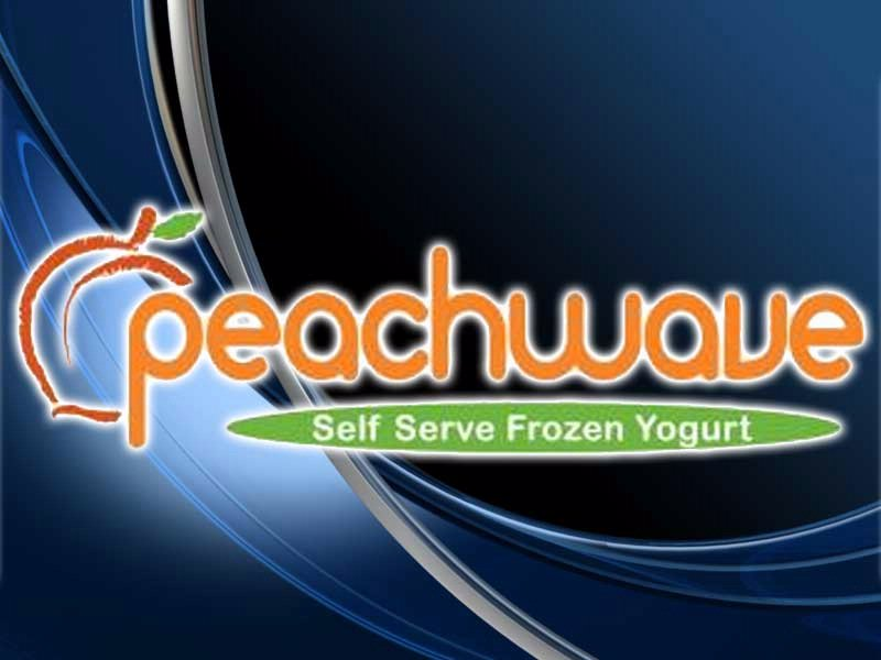 peachwave logo yogurt