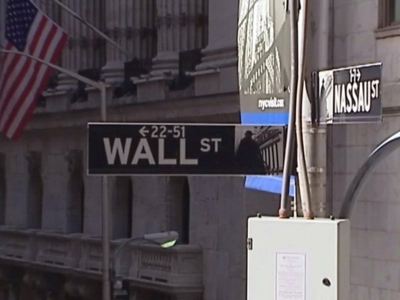 wall street sign markets stock market stock exchange