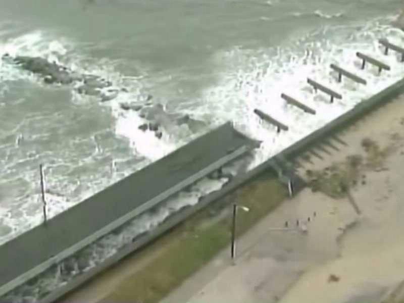 hurricane sandy east coast waves