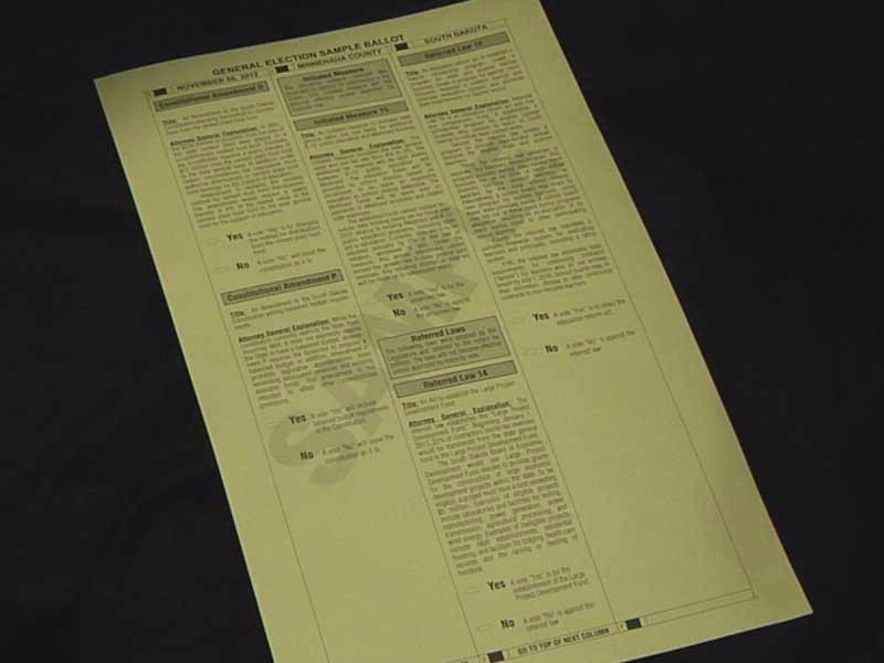 sample ballot election 2012