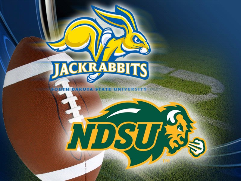 SDSU v. NDSU South Dakota State University vs. North Dakota State University football image