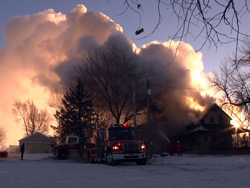 house fire garreston complete loss