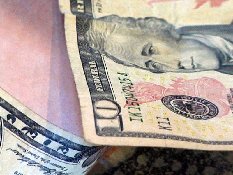 cash $10 bill $50 money