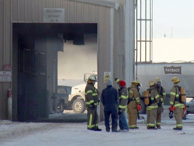 CHS fire near corson brandon fire units