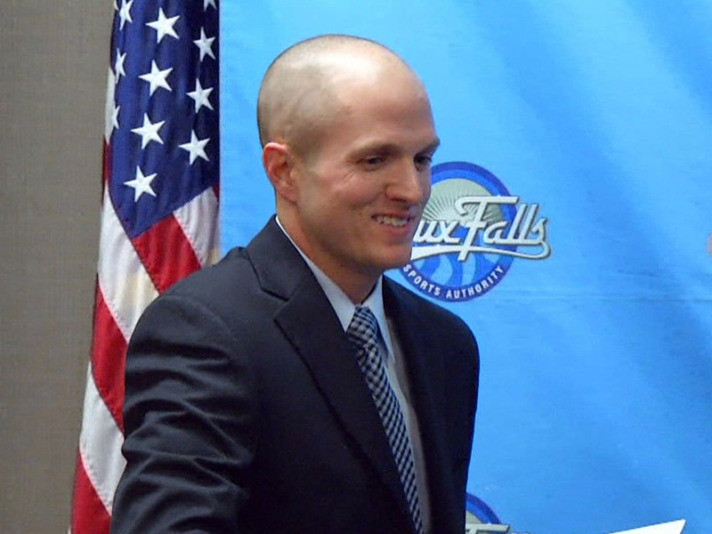 wesley hall new sioux falls sports authority executive director