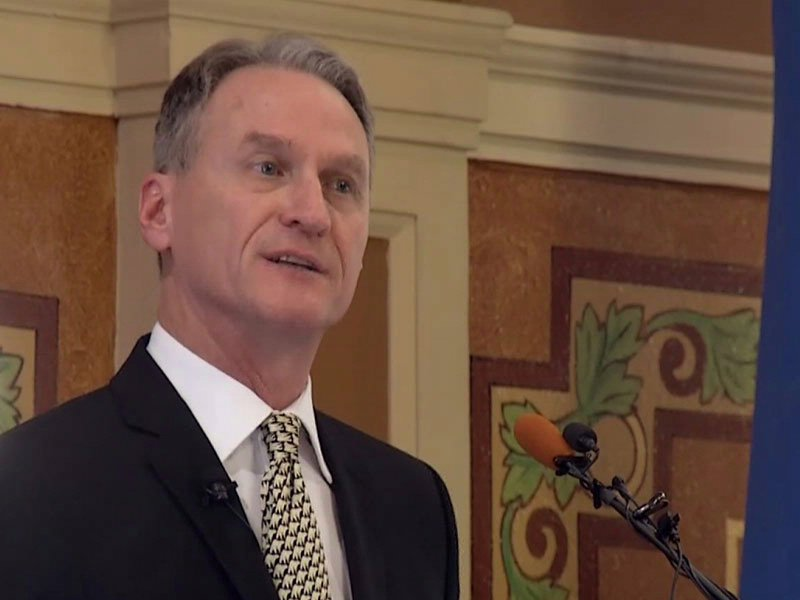 Governor Dennis Daugaard South Dakota pierre capitol 2013 state of the state