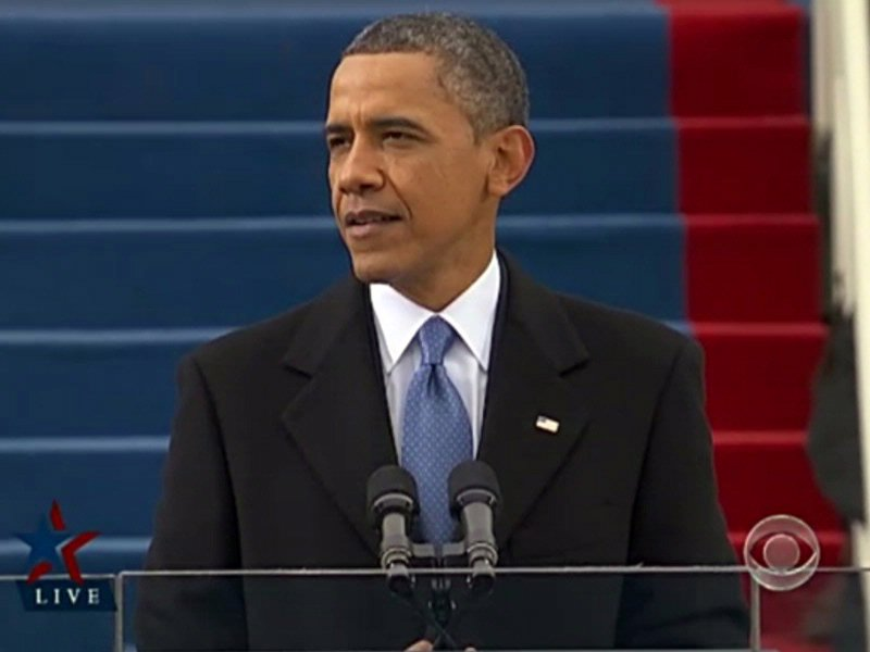 president barack obama inauguration speech
