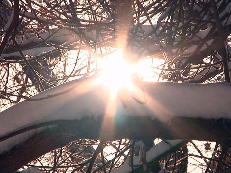 aberdeen snow sun sunshine