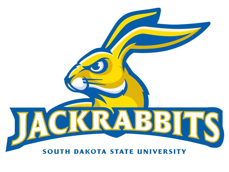 south dakota state university SDSU jackrabbits LARGE logo