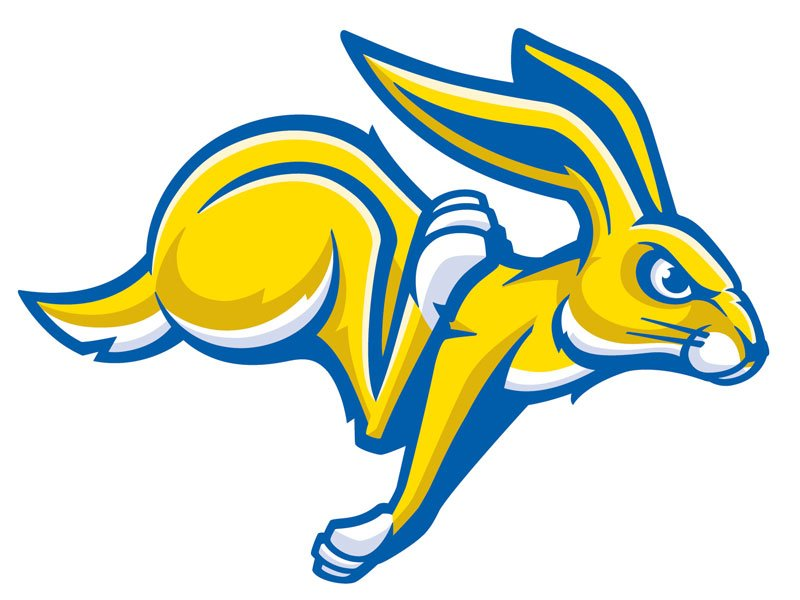 SDSU jackrabbits athletics logo