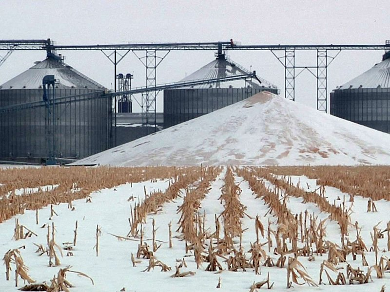 grain elevator crops farm markets winter