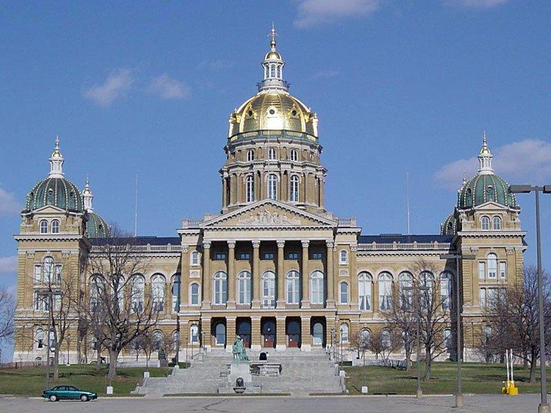 Iowa Capitol Building Des Moines