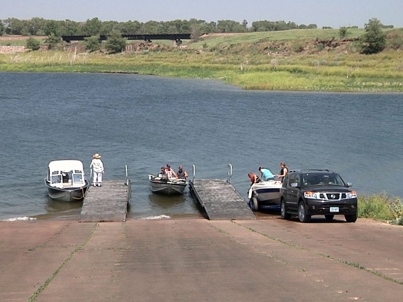 lake oahe missouri river fishing