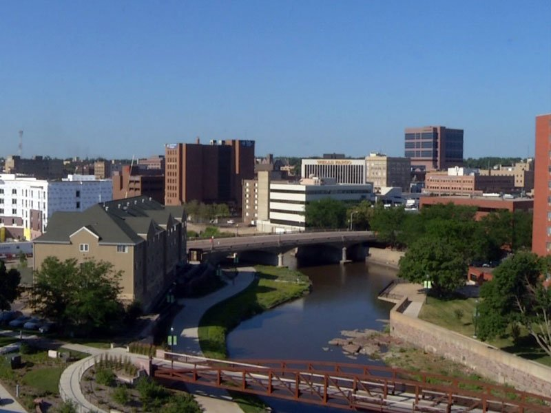 sioux falls downtown skyline