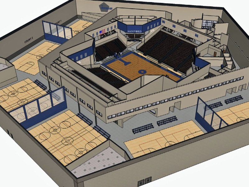 sanford pentagon sioux falls drawing