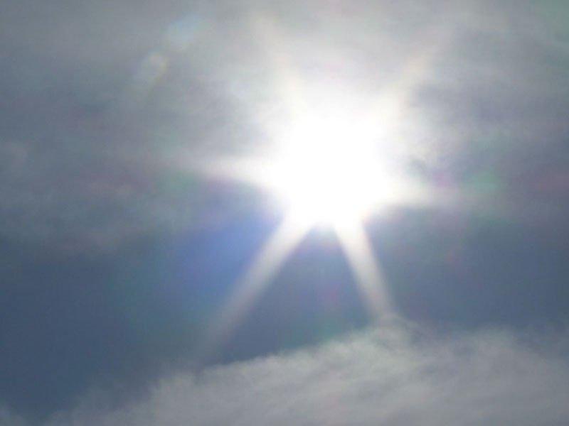 winter sun december weather