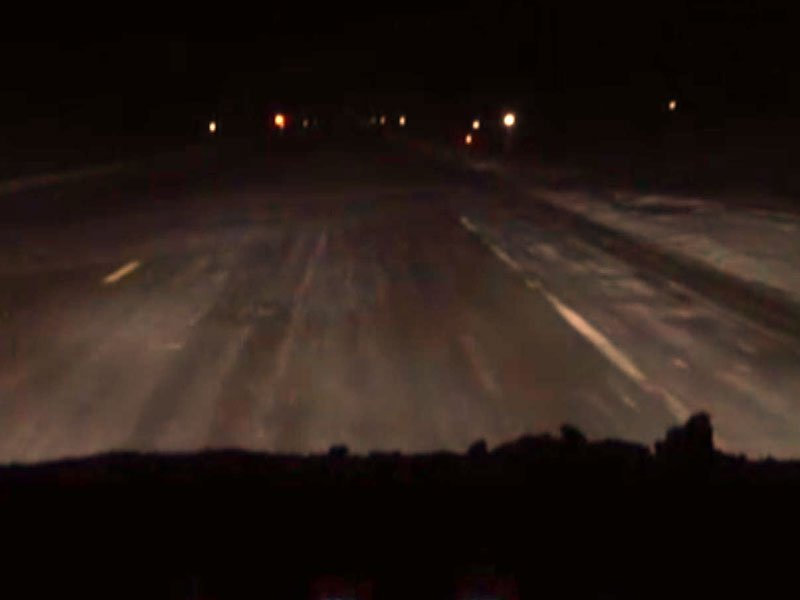 road conditions on highway 38, snow, slick roads
