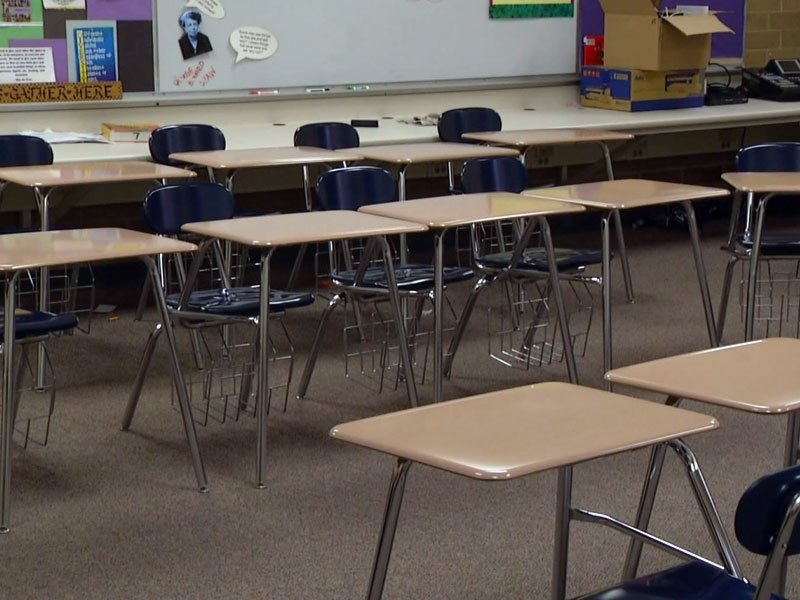 Sex Abuse, Empty Classroom