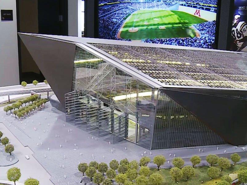 Model, New Stadium