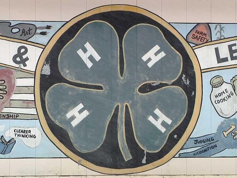 4H Mural, Huron