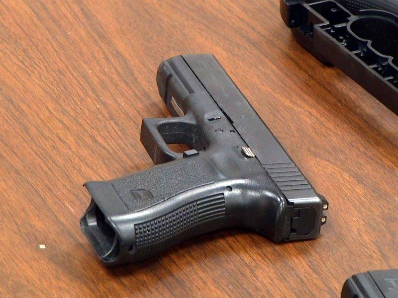 Standard police issued firearm