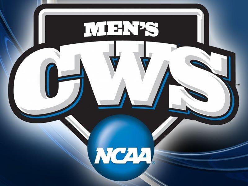 college world series logo
