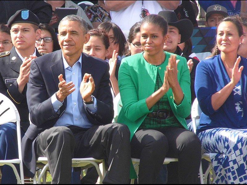 President Obama Standing Rock Reservation visit
