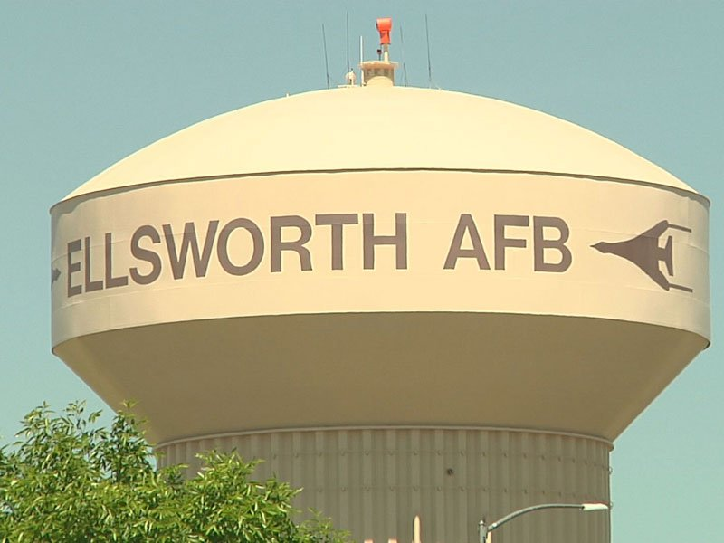 Ellsworth Air Force Base water tower