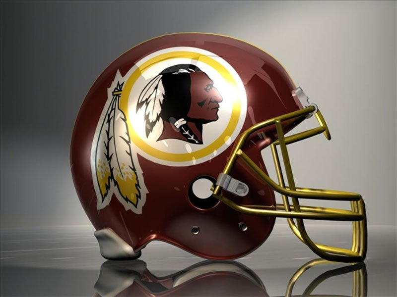 washington redskins football helmet