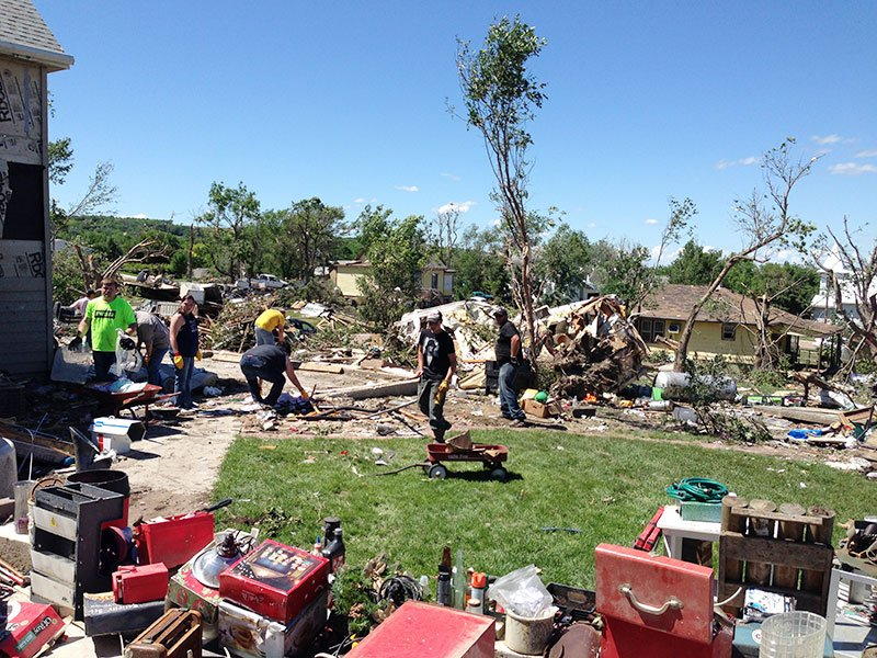 wessington springs tornado damage