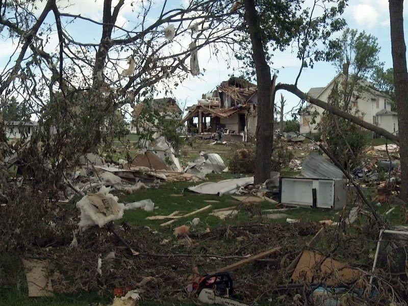 Wessington Springs destruction